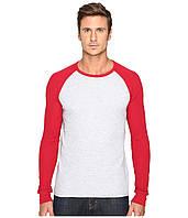 Реглан Levi's, Athletic Grey Heather/Jester Red, фото 1