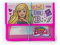 """491120 Папка для тетрадей пласт, на резинке  В5 """"Barbie"""""""