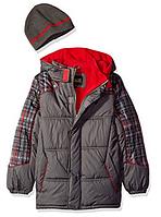 Куртка  серая iXtreme (США) с шапкой для мальчика 2-7 лет