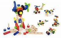 Набор строительных блоков Viga toys 68 шт. (50382), фото 1