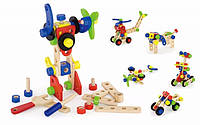 Набор строительных блоков Viga toys 68 шт. (50382)
