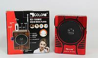 Радиоприёмник портативный GOLON под флешку и фонарем, фото 1