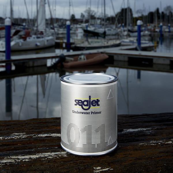 SEAJET 011 грунтовка, только для подводной части 0,75л серебро