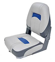 Сиденье Premium High Back Серый/Уголь/Синий