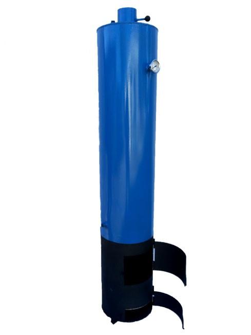 Титан дровяной 100 литров со смесителем, термометром и клапаном безопасности