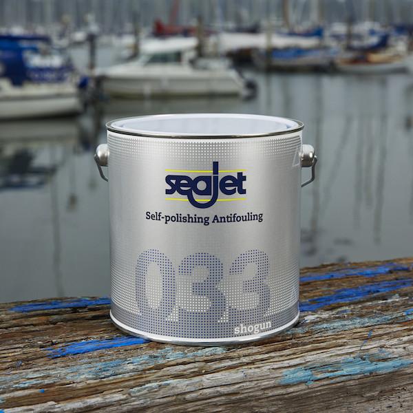 SEAJET 033 SHOGUN необрастайка с самополировкой темно-синяя 0,75л