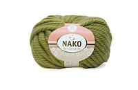 Nako Pure Wool Plus морские водоросли № 853