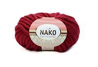 Nako Pure Wool Plus тёмно-красный № 1175