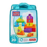 Конструктор Учимся считать Mega Bloks First Builders