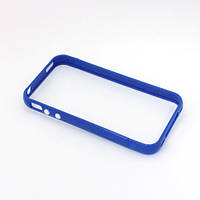 Бампер для Apple iPhone 4/4S, пластик, SGP Case Linear EX, Синий /чехол/кейс/case/защита /айфон