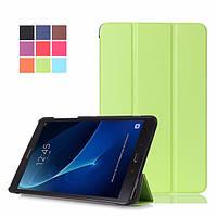Чехол на Samsung Galaxy Tab A 10.1 SM-T580 T585 Slim Smart Cover Green (Зеленый)