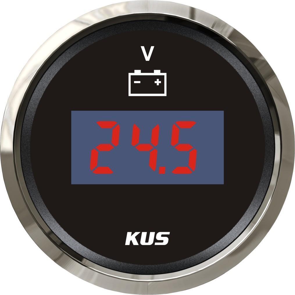 Вольтметр Wema (Kus) цифровой черный Китай KY23000