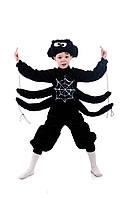 Детский костюм Паук, карнавальный костюм для мальчика, рост 100-115 см