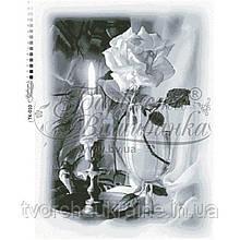 Бисерная заготовка для вышивки схемы-картины Свеча (2)