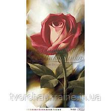 Бисерная заготовка для вышивки схемы-картины Романтическая роза