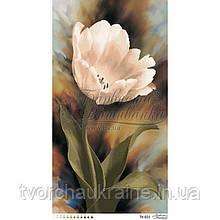 Бисерная заготовка для вышивки схемы-картины Романтический тюльпан