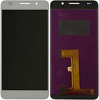 Дисплей (экран) для телефона Huawei Honor 6 H60-L02 + Touchscreen White