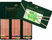 Пастельные карандаши PITT 60 цв. Faber Castell  металл. коробка  112160