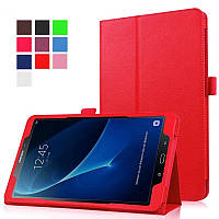 Чехол книжка на Samsung Galaxy Tab A 10.1 SM-T580 T585 TTX Leather Case Red (Красный)