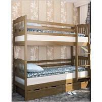 Кровать Мева(Ева) 2-х ярусная с шухлядами