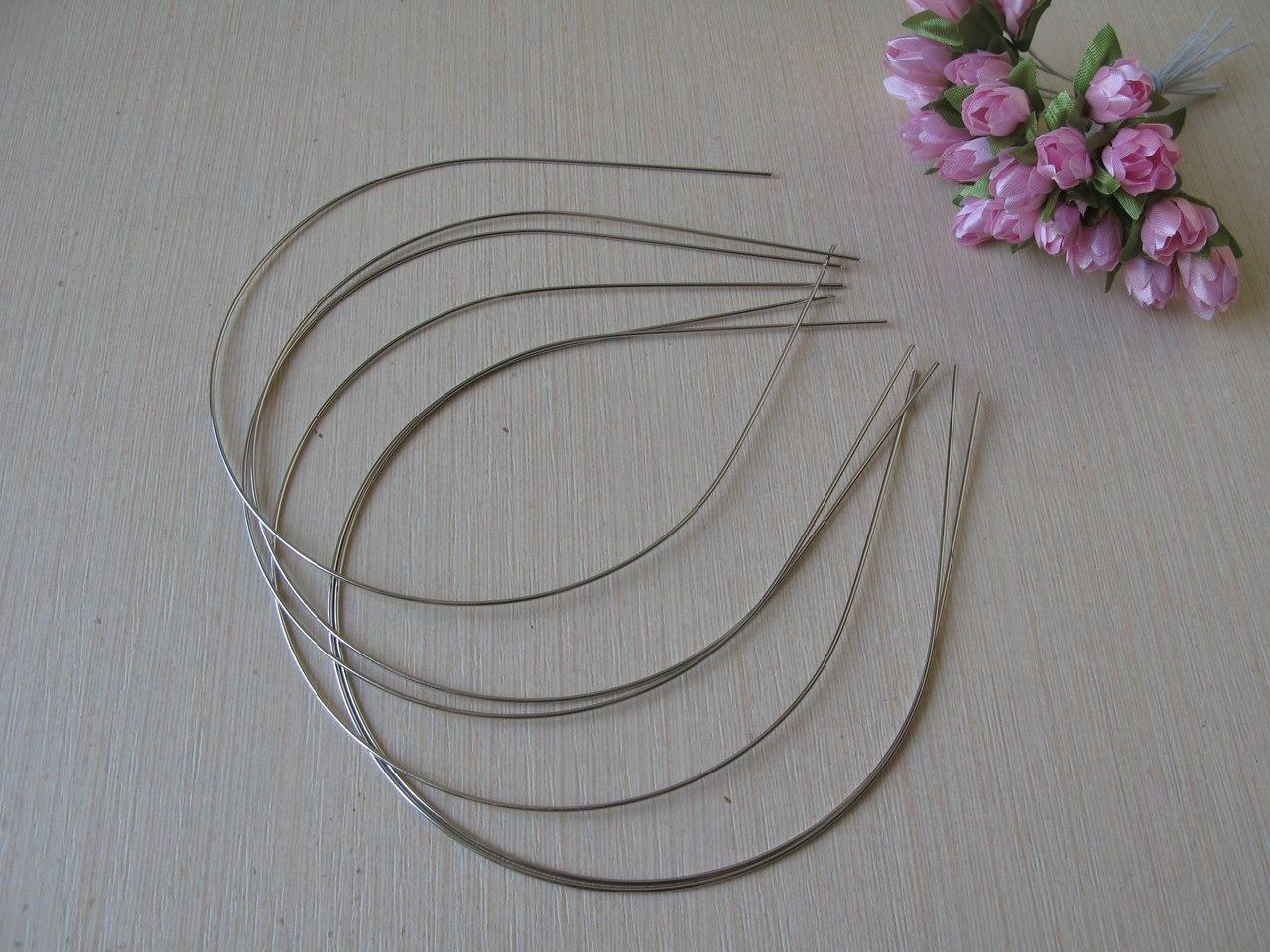 Обруч металлический, заготовка. 0.15 см