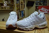 Женские кроссовки AirMax 95, белые