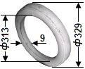 Кольцо капролон 02.015 Г9-ОЦМ-5
