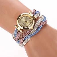 Женские часы-браслет со стразами 116