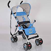 Прогулочная детская коляска-трость Sigma B-Y-W 302 Blue. Алюминиевая рама. Вес 4кг.