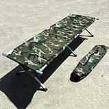 Раскладушка алюминиевая Ranger Military, фото 3