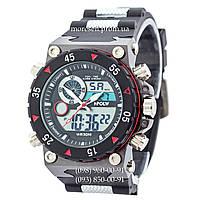 Часы Sport Watch Black-Red