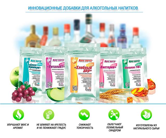 инновационные добавки для алкогольных напитков