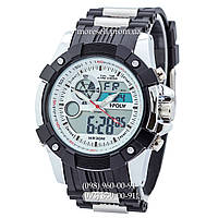 Часы Sport Watch Black-Silver-White