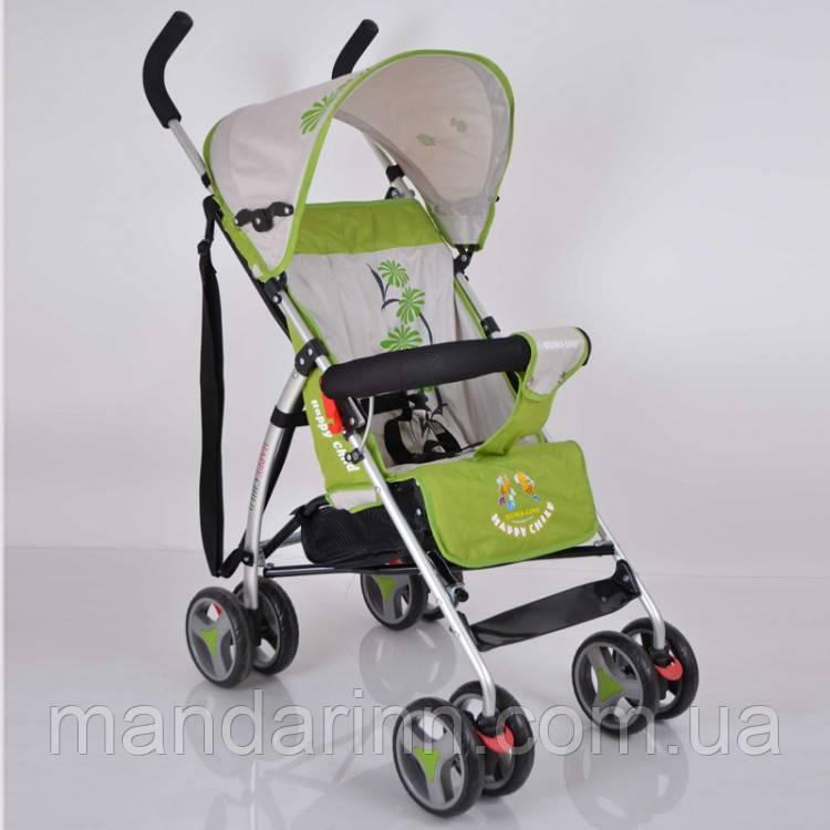Прогулочная детская коляска-трость Sigma B-Y-W 302 Green. Алюминиевая рама. Вес 4кг.