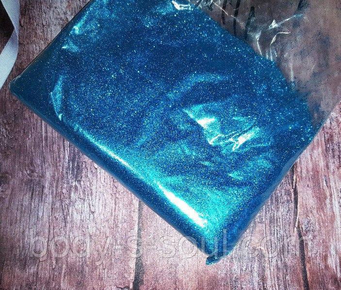 Глиттер цвет Яркий, голубой
