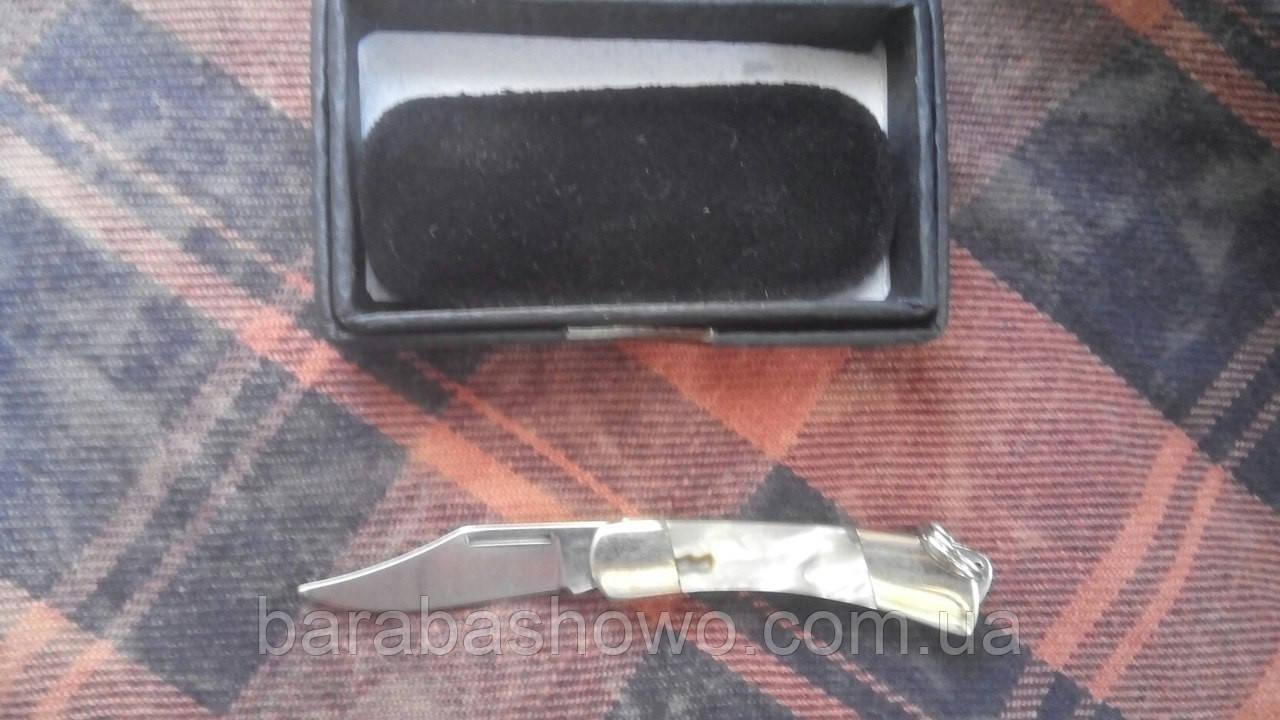 Нож-брелок 00400-mini Маленький на ключи для девушки на подарок