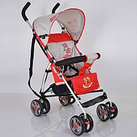 Прогулочная детская коляска-трость Sigma B-Y-W 302 Red. Алюминиевая рама. Вес 4кг.
