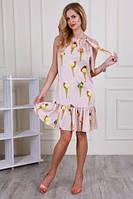 Шелковое  женское платье  (44-48) , доставка по Украине