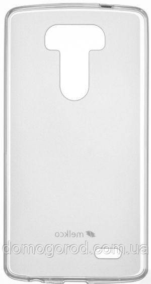 Чехол Melkco LG G4 Poly Jacket TPU Transparent (LGOPG4TULT2TSMT)