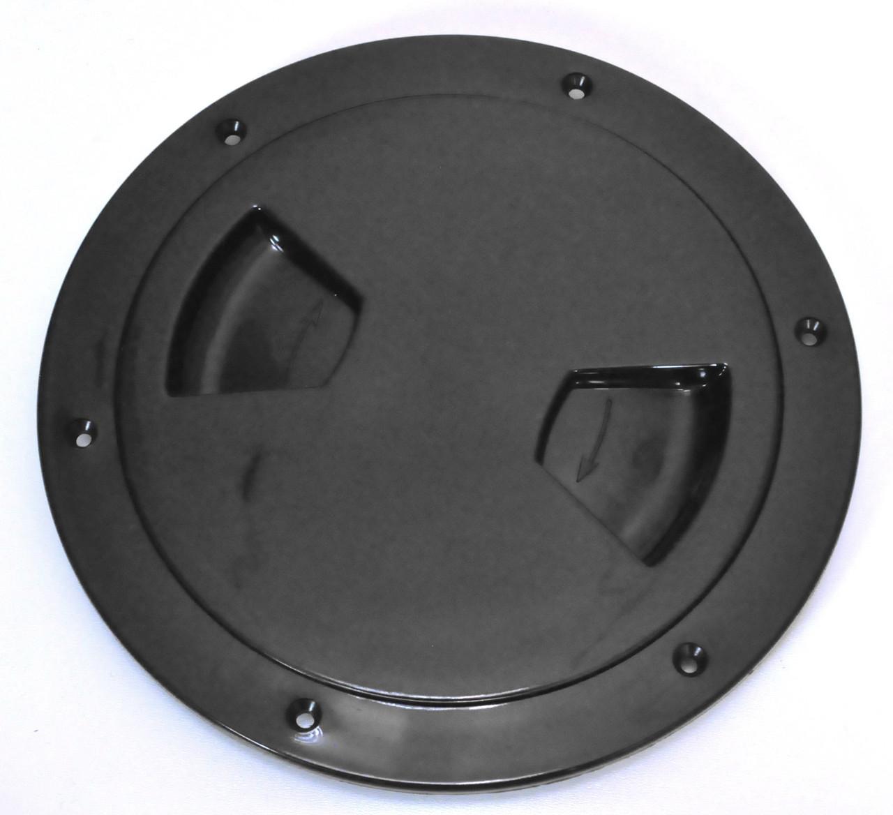 Лючок инспекция диаметр 127 мм черный, Тайвань 13561-BK