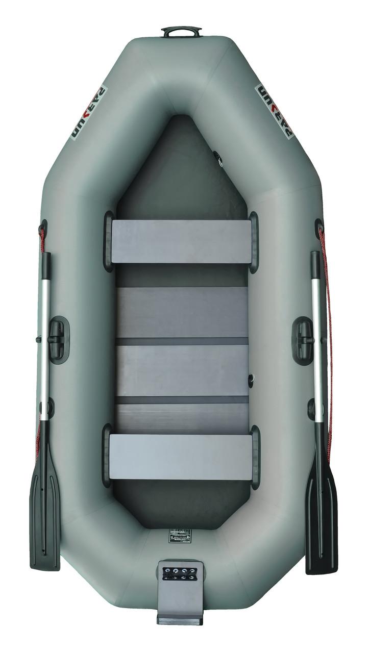 Надувная лодка Parsun 260T зеленая