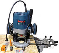 Фрезер Bosch GOF 2000 CE бу + цанги 10 и 12 мм + фреза CMT 912.622.11 D=12 мм, фото 1