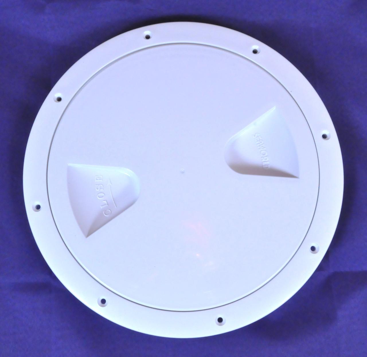 Лючок инспекция диаметр 203 мм белый, Тайвань 13563-WHR