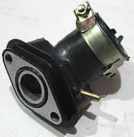 Патрубок карбюратора 4T 80 кубовый GY6-50/80