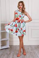 Коктельное  женское платье из шелка  (44-48) , доставка по Украине