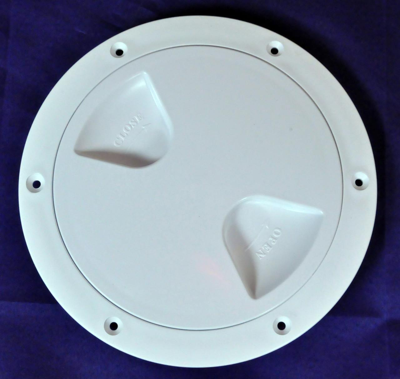 Лючок инспекция диаметр 127 мм белый, Тайвань 13561-WH
