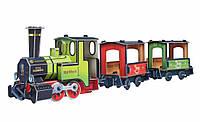 Сборная игрушка из картона 417 Поезд Умбум