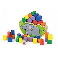 Гра Viga toys Балансуючий слон (50390), фото 1