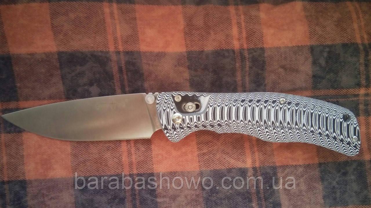 Ніж складаний Фін рибальський якісний ніж на подарунок чоловікові спортивний
