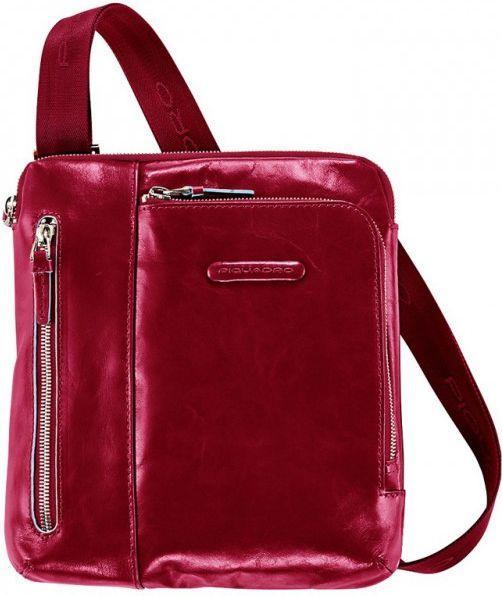 Кожаная мужская сумка Piquadro BL SQUARE, CA1816B2_R красный